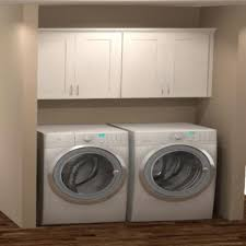 kitchen cabinet kits home depot hton bay shaker ready to install 64x30x12 in laundry