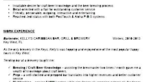 bartending resume exle bartender resume exle bartending resume exles exle