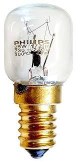 electrolux oven light bulb philips 25 watt e14 ses oven lamp light bulb 300 degrees small