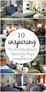 Boy Bedroom Ideas by 10 Inspiring Shared Bedroom Ideas For Boys 10 Creative Christian