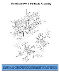 part diagrams western uni mount snowplow parts warehouse