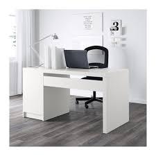 White Desk And Chair Malm Desk Black Brown Ikea