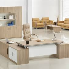 Executive Desks Modern Stunning Ceramic Floor With Beige Executive Desk Using