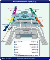 Washington Dc Airports Map by Portland Airport Map
