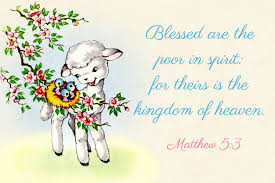 free printable christian message cards blessed are the poor in