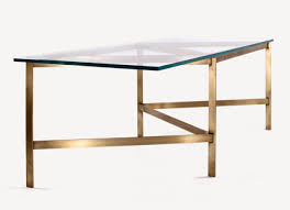 brass glass dining table bassamfellows plank dining tables