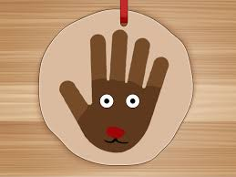 thanksgiving handprint turkey how to make salt dough handprints with pictures wikihow