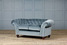 the monty velvet chesterfield sofa by authentic furniture