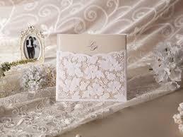 faire part dentelle mariage carte d invitation ornement en dentelle empoché mariage invitation