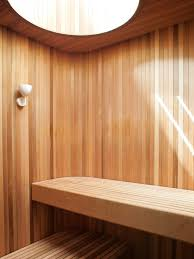 modern saunas collection of 5 photos by diana budds dwell