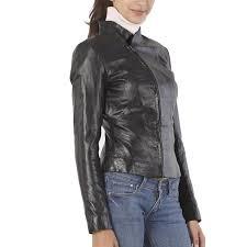 womens leather motorcycle jacket arrow women u0027s glazed leather moto jacket