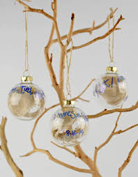 clear glass 2in ornament balls gold tops 50mm
