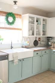 marvelous painting old kitchen cabinets chalk painted kitchen