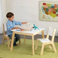 modern tables and chairs amazon com kidkraft modern table and 2 chair set toys u0026 games
