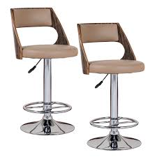 Bar Sets For Home by Furniture Wooden Walnut Saddle Bar Stools For Home Furniture Ideas