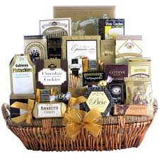 gift baskets food great arrivals chagne gift basket