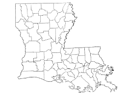 Map Of Louisiana by Map Of Louisiana Parishes Map