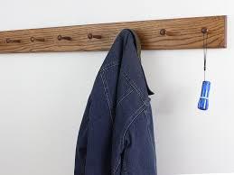 solid oak shaker peg racks made in the usa