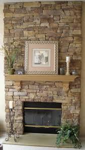 stone walls inside homes fireplace modern best surround ideas on