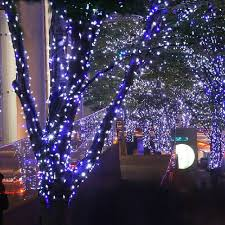 Pale Blue Christmas Tree Decorations by Aliexpress Com Buy 22m 200 Leds Solar Panel Led String