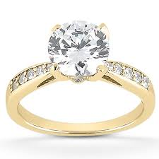 engagement rings yellow gold stunning cz yellow gold engagement rings 71 in new trends with cz