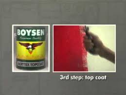 painting it easy with boysen acrytex youtube