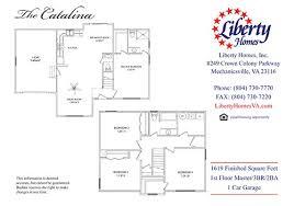 1st floor master liberty homes virginia home builderliberty