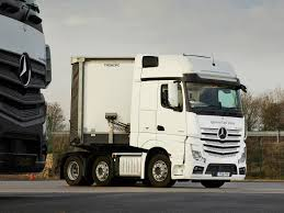 mercedes actros mercedes actros 2551 used truck road test review commercial