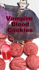 red couch recipes vampire blood cookies