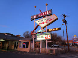 sunrise in gallup view to west vintage roadrunner motel u2026 flickr