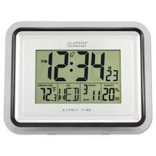 Digital Atomic Desk Clock Buy Atomic Clocks From Bed Bath U0026 Beyond
