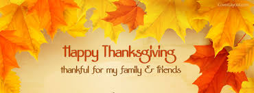 happy thanksgiving thankfulmy family and friends cover