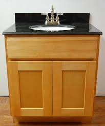 Bamboo Vanity Cabinets Bathroom by Natural Shaker Bamboo Bathroom Cabinets With Black Top Bamboo