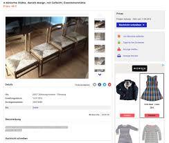 Esszimmerst Le Design Leder Danish Design Dining Chairs 4er Set Esszimmerstühle Vintage 60er