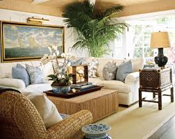 Living Rooms Blue Walls Sitting Room British Colonial Room - Colonial living room design