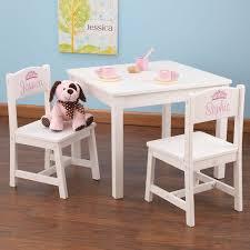 table chaise fille table et chaises enfant en bois