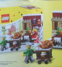 thanksgiving legos lego thanksgiving feast 40123 seasonal set revealed bricks and bloks