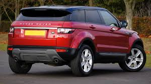 land rover small red land rover range rover free stock photo