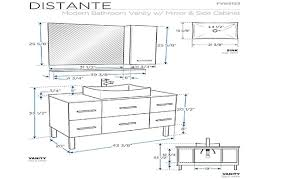 Standard Height For Cabinets Bathroom Vanities Buy Vanity Cabinets And Standard Height For