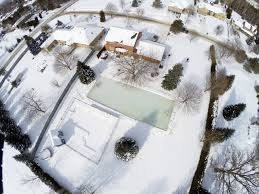 Hockey Rink In Backyard by Backyard Hockey Rinks From Simple To Elaborate The Columbian