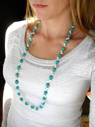 long turquoise necklace images Long beaded necklace long necklace pearl necklace turquoise jpg
