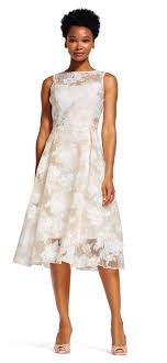 midi dress floral embroidered midi dress with sheer neck and hem