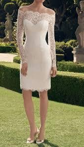 Civil Wedding Dress Open Back Form Fitting Wedding Dress Designer Wedding Dresses