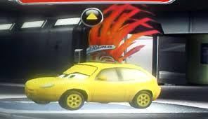 cars characters yellow race o rama pixar cars wiki fandom powered by wikia