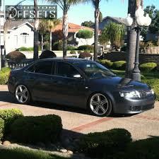 audi a4 2004 silver wheel offset 2004 audi a4 flush dropped 1 3 custom rims