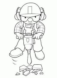 coloring pages kids bob builder coloring pages coloring