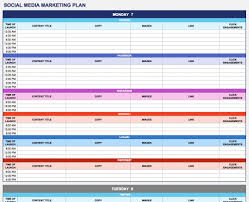 life planner template 18 social media marketing plan template that will make your life easy social media marketing plan template for excel