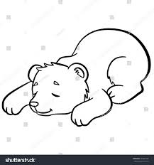 coloring pages wild animals little cute stock vector 425997166