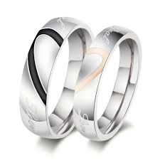 cheap engagement rings for men cheap stainless steel wedding rings men find stainless steel