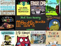 Scary Monsters For Halloween Alohamora Open A Book Monsters Not Too Scary Monster Books